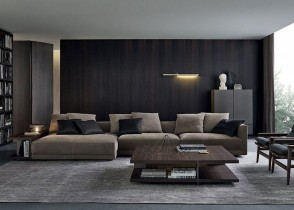 Contemporary modern living room Ideas sectional