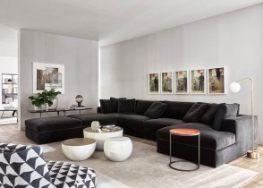 Contemporary modern living room decor