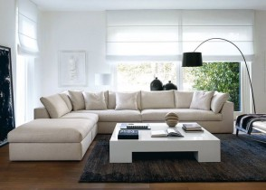 White modern Sectional sofa 9