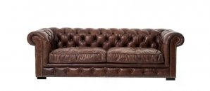 Vienna Leather Sofa